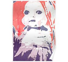 Scary Doll Screenprint #4 Poster