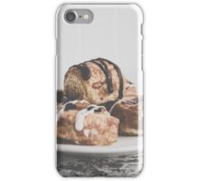 Plateful of Pastries iPhone Case/Skin