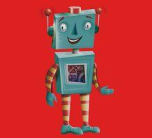 Aqua Robot Kids Clothes