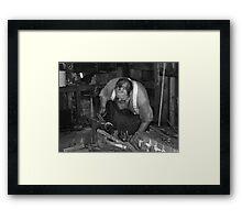 Blacksmith Bill Framed Print