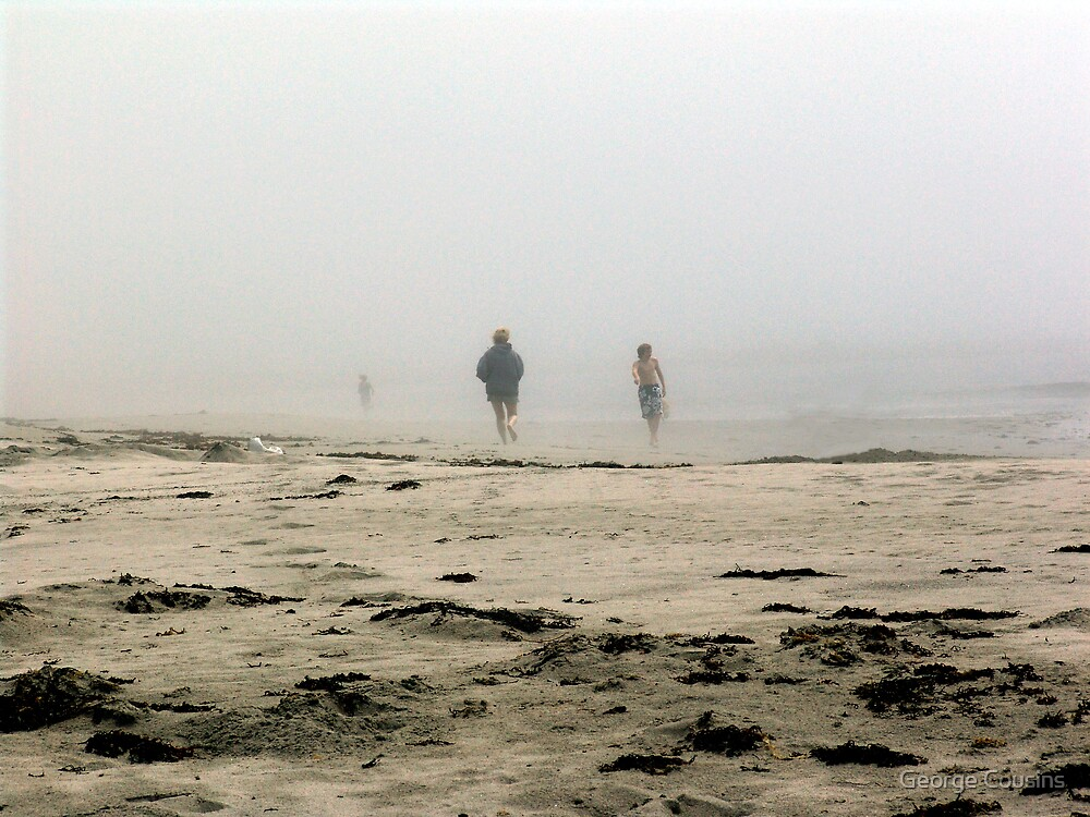 The Fog Rolls in at Tor Bay by George Cousins