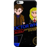 NINTENDO: NES DOCTOR WHO  iPhone Case/Skin