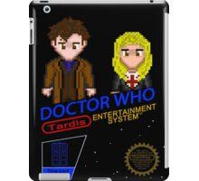 NINTENDO: NES DOCTOR WHO  iPad Case/Skin