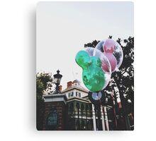 Disneyland's Haunted Mansion  Canvas Print