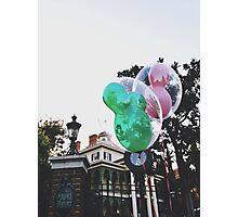 Disneyland's Haunted Mansion  Photographic Print