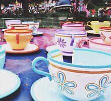 Disneyland's Tea Cups  by whitneymicaela