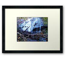 Beulach Ban Falls, Cape Breton Island Framed Print