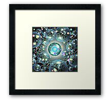 'fractals&bubbles&orbs...oh my!' Framed Print