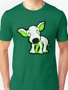 EBT Puppy White and Lime  Unisex T-Shirt
