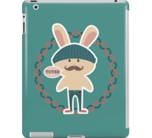 Totes hipster Easter bunny knitted hat skinny jeans iPad Case/Skin