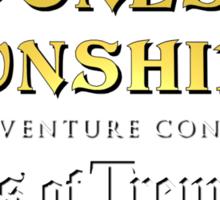 Cones of Dunshire sequel, Winds of Tremorrah. Sticker