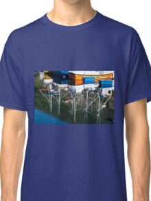 Boat reflection Classic T-Shirt