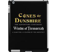 Cones of Dunshire sequel, Winds of Tremorrah. iPad Case/Skin