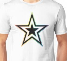 rainbow star Unisex T-Shirt