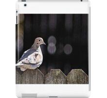 Little Bird on the Fence iPad Case/Skin