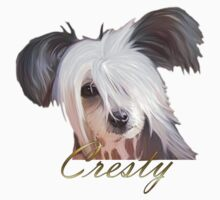 Chinese Crested T by Cazzie Cathcart