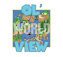 Ol' World View Photographic Print