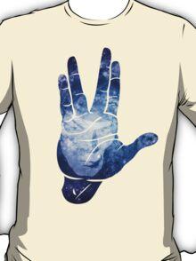 Spocks Hand - Leonard Nimoy Geek Tribute T-Shirt