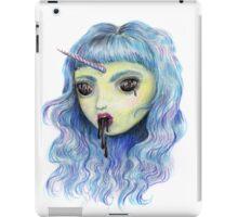 Spooky Unicornia and the Black Ooze iPad Case/Skin