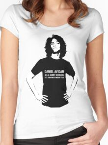 Dan Avidan Loves Haikus Women's Fitted Scoop T-Shirt