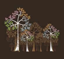 Four Seasons Trees T-Shirt