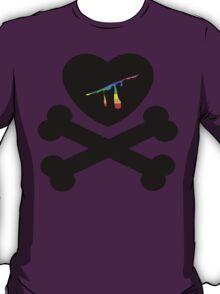 heart and crossbones T-Shirt