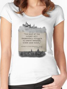 Bioshock Infinite R. Lutece Quote Women's Fitted Scoop T-Shirt