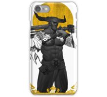Horns Up iPhone Case/Skin