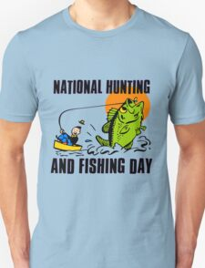 NATIONAL HUNTING AND FISHING DAY T-Shirt