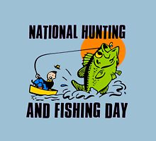 NATIONAL HUNTING AND FISHING DAY Unisex T-Shirt