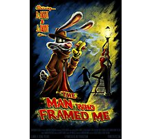 The Man Who Framed Me Photographic Print