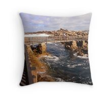 Bridge over troubled waters Throw Pillow