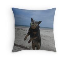 Beach Rose Throw Pillow