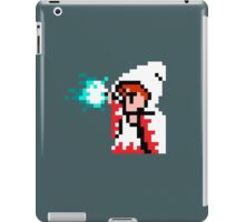 8 Bit White Mage iPad Case/Skin