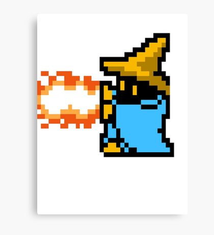 8 Bit Black Mage Canvas Print