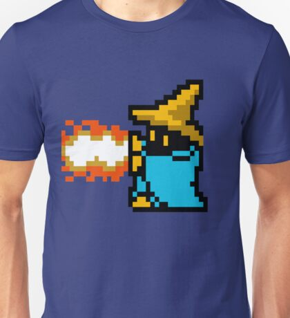 8 Bit Black Mage Unisex T-Shirt