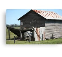 farmscapes #66, old drying shed Canvas Print