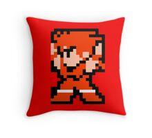 8 Bit Fighter Throw Pillow