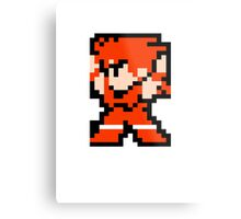 8 Bit Fighter Metal Print