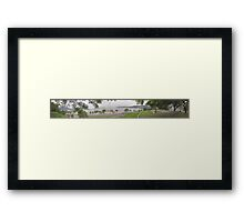 360 degrees Panorama of São Francisco Framed Print