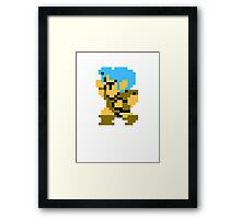 8 Bit Thief Framed Print