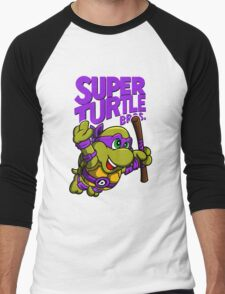 Super Turtle Bros - Donnie Men's Baseball ¾ T-Shirt