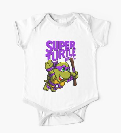 Super Turtle Bros - Donnie Kids Clothes