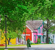 Sherbrooke Village by Kathleen   Sartoris
