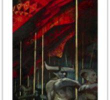 Dragon Age Inquisition Iron Bull Tarot card 2 Sticker