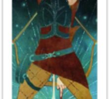 Dragon Age Inquisition Sera Tarot card 2 Sticker