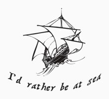 Id rather be at sea by ColaBoy