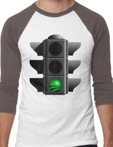 greenlight go OBAMA! Men's Baseball ¾ T-Shirt