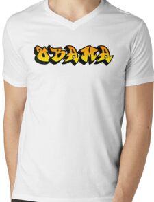 obama : graffiti Mens V-Neck T-Shirt