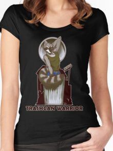 Trashcan Warrior Women's Fitted Scoop T-Shirt